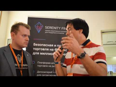 ICO TV VIDEO // Serenity financial ICO Interview (RUS)