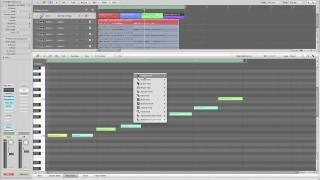 Logic Pro tutorials (4) Piano-Roll (1/16)
