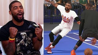 Kyrie Irving Gets Ankle Broken By LeBron James While Playing NBA 2K18