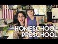 Homeschool Preschool ! Our plans !