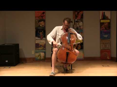 Avant garde Afternoon @ CCPL - Jari Piper -  Modern Cello Music - July 6 2014