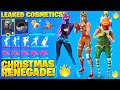 ALL NEW LEAKED SEASON 5 SKINS!! *GINGERBREAD RENEGADE RAIDER* (FA LA LA FISHSTICK, GALAXIA)