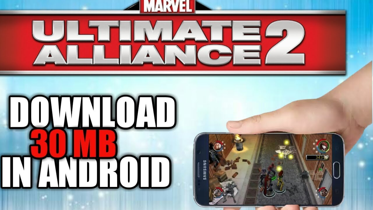 download game ppsspp marvel ultimate alliance highly compressed