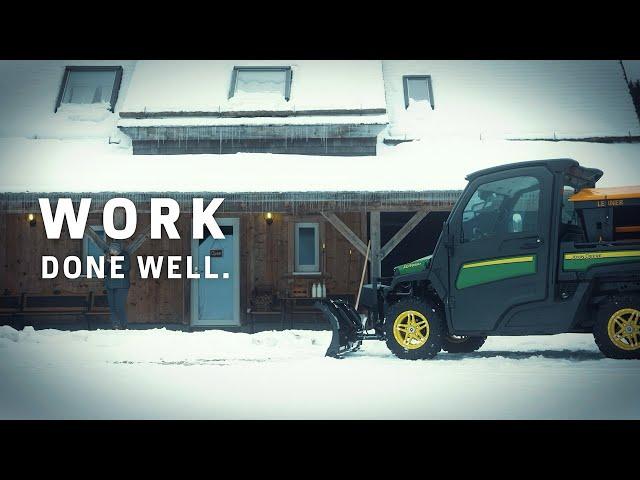 Travail bien fait en hivier | John Deere