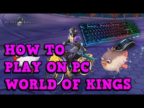 HOW I PLAY ON PC (MuMu) - World Of Kings