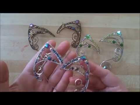 Making Wire Elf Ears