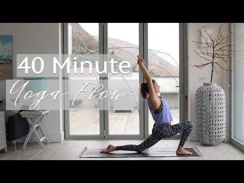 40 Minute Yoga Flow Class | Annie Clarke | Mind Body Bowl