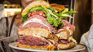 new yorks biggest sandwich challenge the trip to manhattan pt1