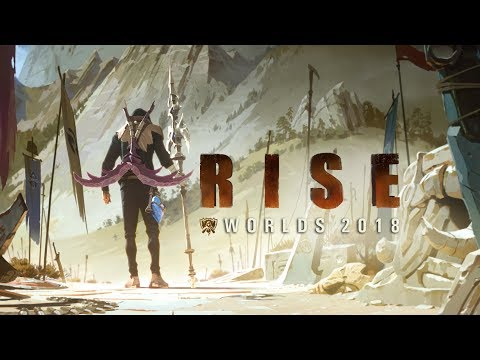 RISE ft The Glitch Mob, Mako, and The Word A  Worlds 2018  League of Legends