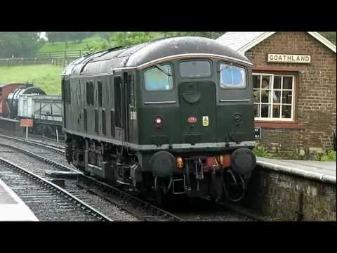 NYMR North Yorkshire Moors Railway Part 2 D5061 24061 and Heritage DMU 101680