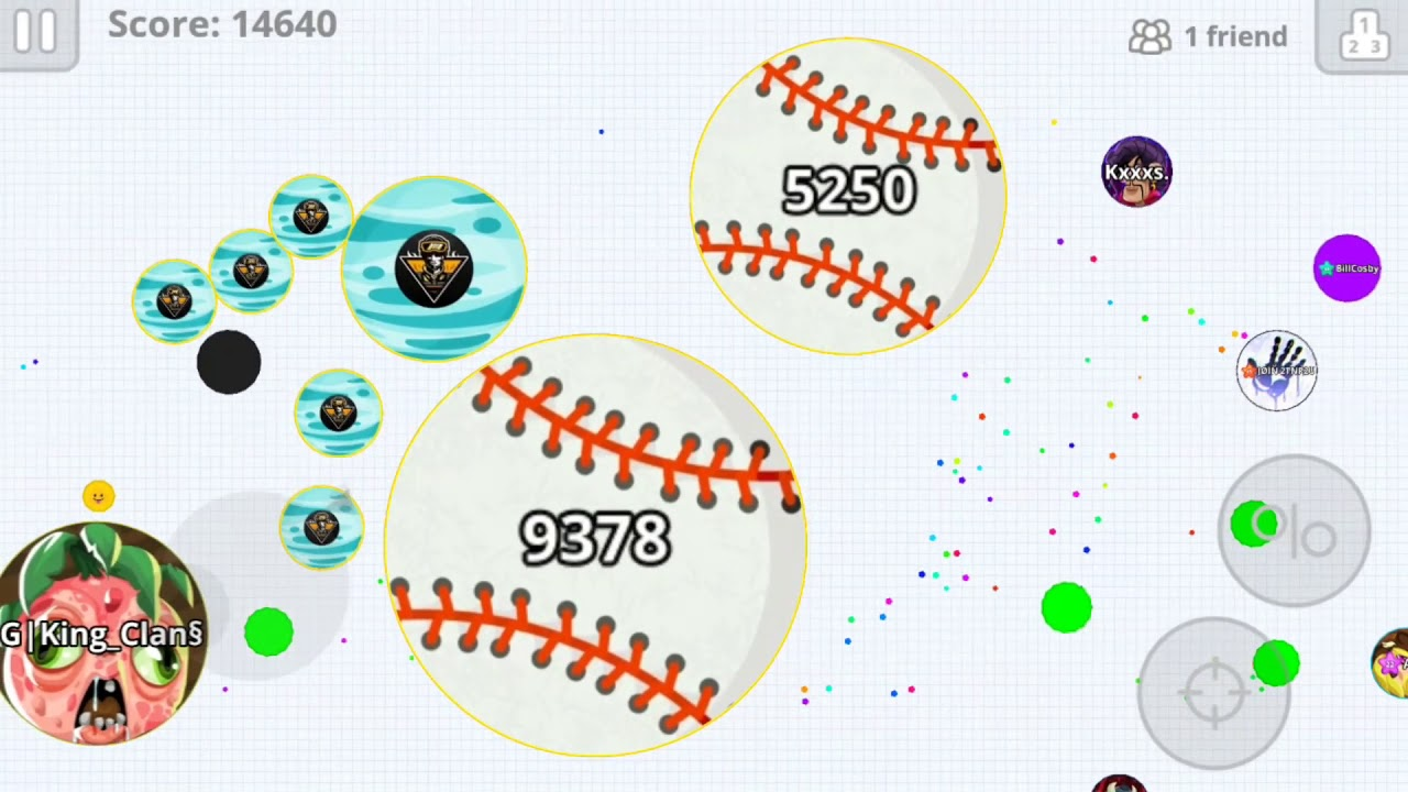 "Agar.io Mobile - *OLD* Clan ""Pro?""Duo Takeover w/ Capo (05/12/2018) [MiniSkateK8]"