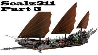 Lego Lord Of The Rings Pirate Ship Ambush Build - Part 3