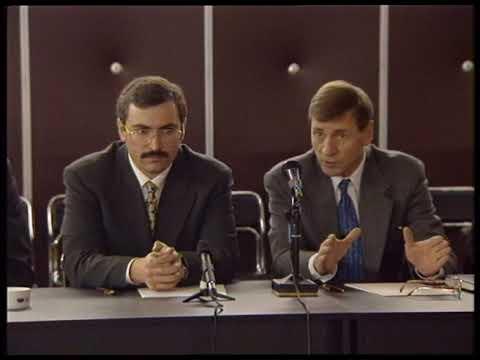 Ходорковский и Петухов. Рукопожатие Иуды. 1997 год.