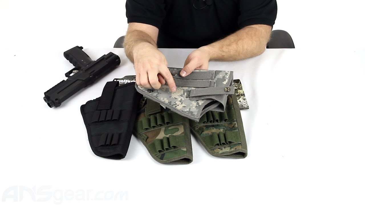 Valken V-Tac SW-1 Blackhawk Paintball Gun - Review