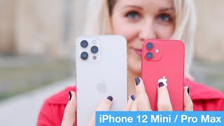 Test iPhone 12 Mini & iPhone 12 Pro Max : trop extrêmes ?