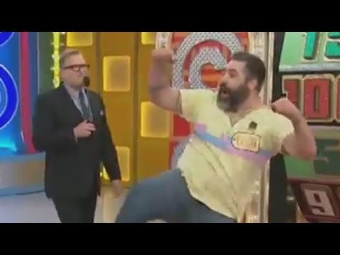 Man's hilarious dance on 'The Price is Right...