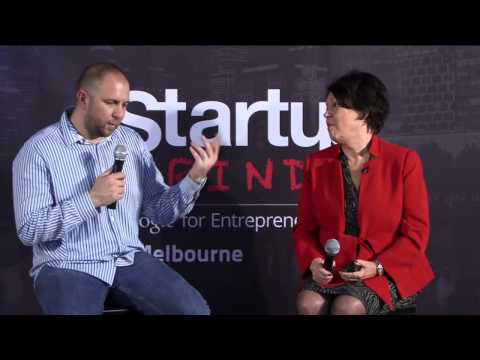 Diana Williams (Fernwood Fitness) at Startup Grind Melbourne