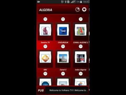 Volka tv android application