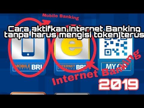 Cara Daftar Internet Banking, Mobile Banking BRI Tanpa Token Di Android 2019
