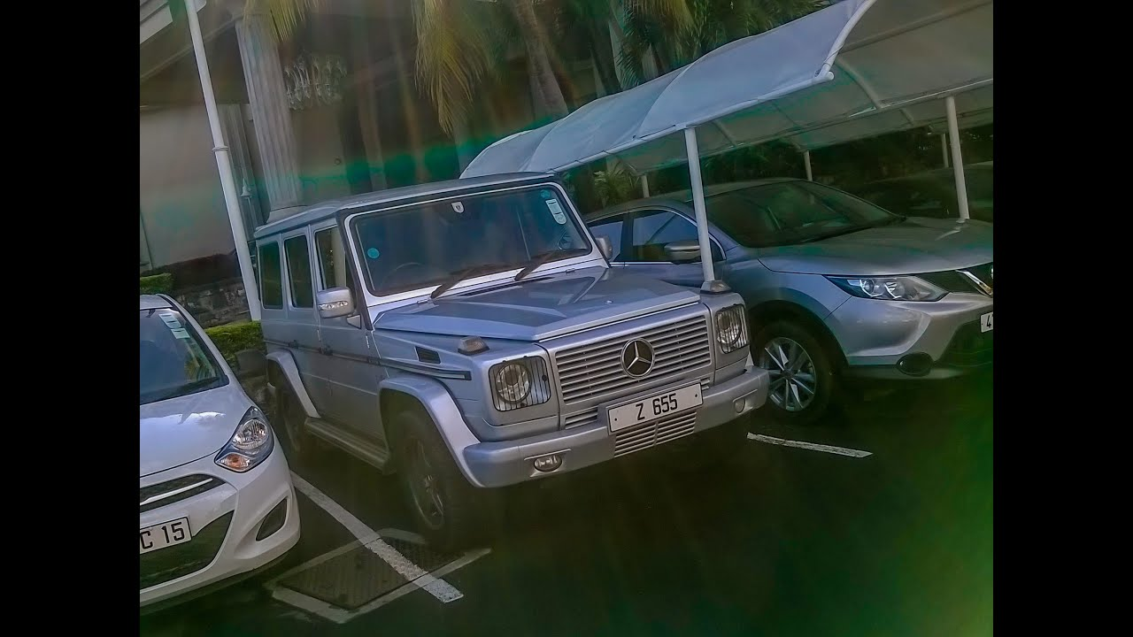 Mercedes G Wagon in Mauritius !