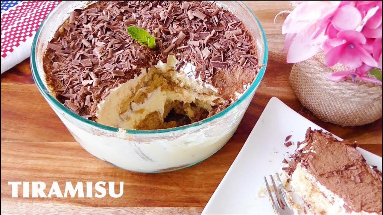 Resep Cake Tiramisu Jtt: Resep TIRAMISU MUDAH Dan ENAK