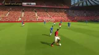 THIS IS LIKE GTA V FOOTBALL MODE ONLINE - THIRD PERSON CAMERA SOCCER GAME PES 15