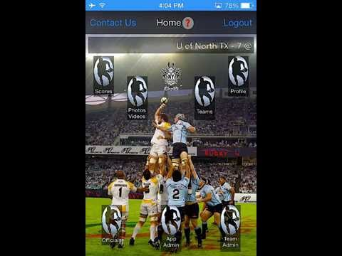 Real-time Rugby Video 1 - How to Request Match Official Rights