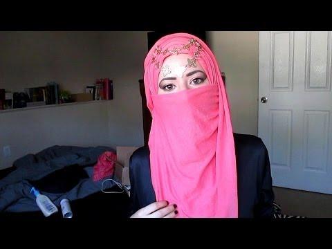 Elegant Spring Occasion Niqab Style