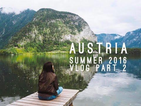 AUSTRIA VLOG (PART 2) || SUMMER 2016: Hallstatt, Innsbruck, Salzburg
