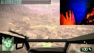How to fly a helicopter in battlefield Bad Company 2 pc - part 1 - basics
