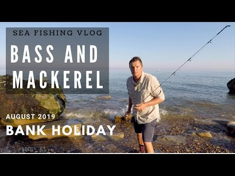 Lure Fishing For Bass On The Hottest August Bank Holiday Ever !