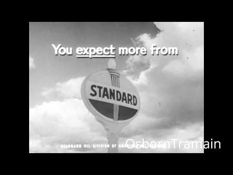 1961 Standard Oil Company Commercial - Features 60 Chevy
