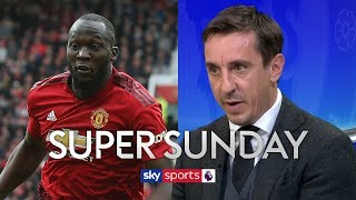 Gary Neville questions Man United players' fitness levels | Super Sunday
