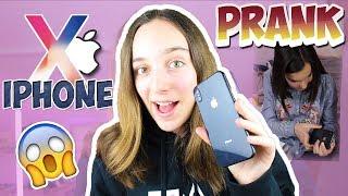 PRANK J'OFFRE UN IPHONE X À MA SOEUR !