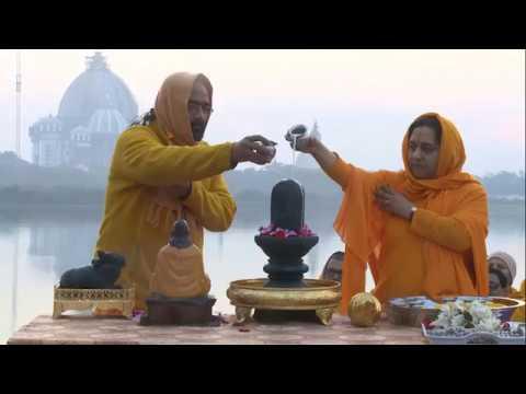 Mahashivaratri Abhishek on the bank of Holy Ganga River on 14th Feb 2018 | Shiv tandav stotram