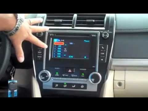 2012 Toyota Camry LE Interior Greensboro, High Point, Winston Salem NC    YouTube