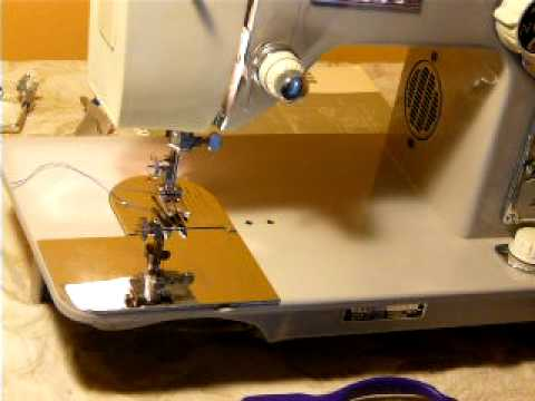 VINTAGE WHITE MODEL 40 HEAVY DUTY 4040AMP SEWING MACHINE YouTube Stunning White Heavy Duty Sewing Machine