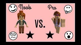 Roblox Social Experiment~ Noob VS Pro Episode 1| Brookie
