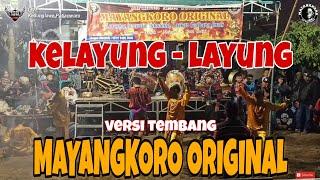 Download Kelayung Layung tembang jaranan cover MAYANGKORO ORIGINAL voc. Djhosua & Latifah