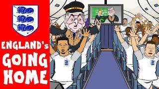 ENGLAND's GOING HOME!!! (England vs Iceland 1-2)(Roy Hodgson resigns)(Euro 2016)