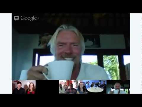 Richard Branson's Hangout on Necker Island