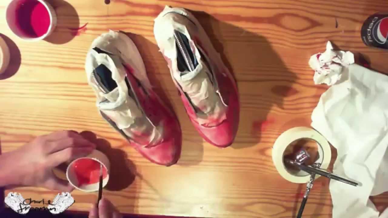 Nike Huarache Galatic Customs By CustomKicks
