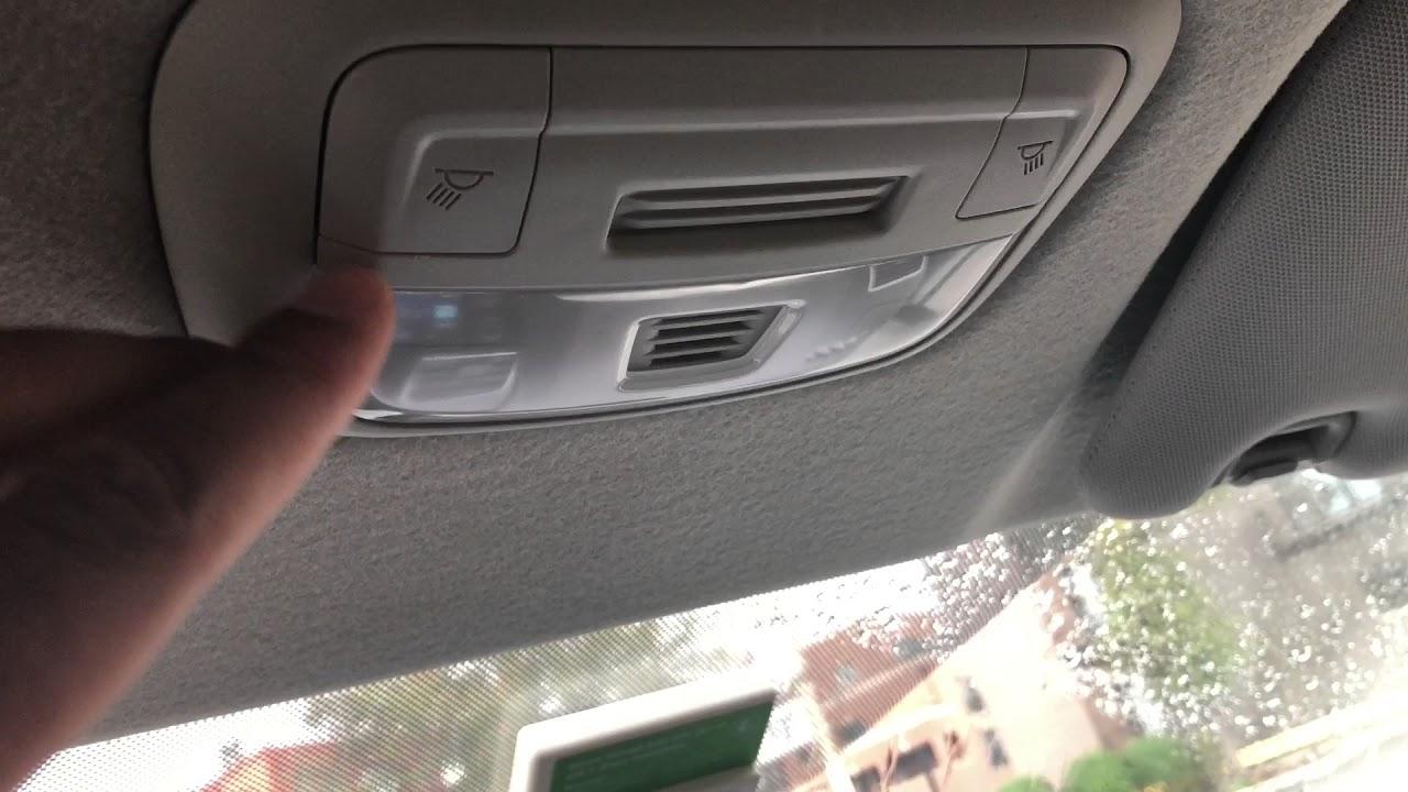 Subaru Crosstrek Interior Lights Turn