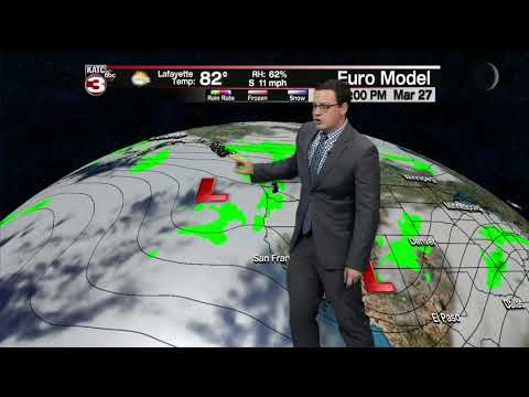 Daniel's weather forecast 03-27-20 6pm