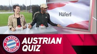 Austrian Quiz Battle! David Alaba & Viktoria Schnaderbeck | FC Bayern