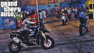 Baixar GTA V   VIDA DE VAGABUNDO   DICHAVANDO A MEIOTA E BMW GS 1200 DO CORRE NO BAILE #EP7