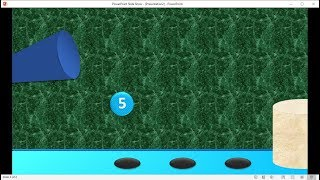 PowerPoint training  How to Make a Countdown Timer Animation Bouncing Ball Animation With Music