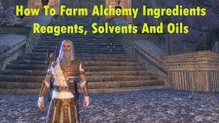 ESO: How To Farm Alchemy Ingredients