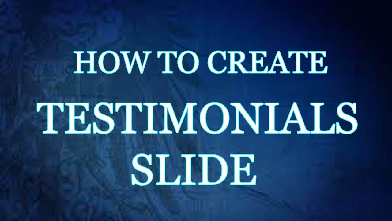 How to create Testimonial slider using HTML, CSS and JS