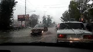Дождь. 'Вселенский потоп' на дорогах Саратова 17 09 2018